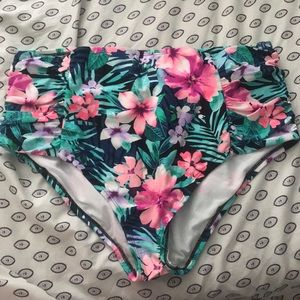 Size 18 High Wasted Bikini Bottoms